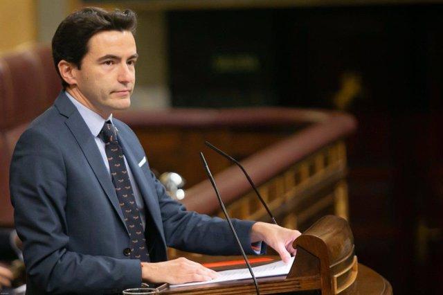 Pedro Casares, diputado del PSOE por Cantabria. Archivo.