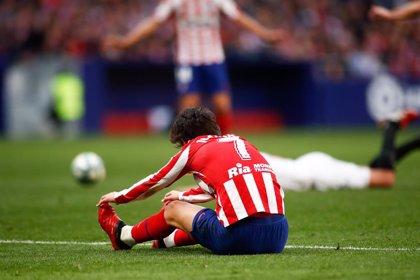 Joao Felix sufre un esguince en la rodilla izquierda