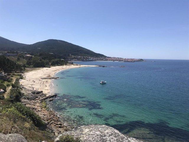 Playa de Caveiro, en Porto do Son (A Coruña).