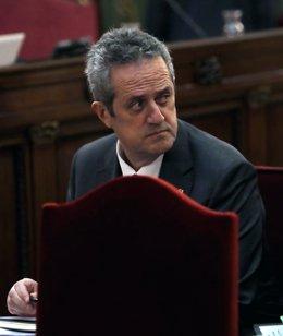 L'exconseller Joaquim Forn en el Tribunal Suprem durant el judici del processo independentista.