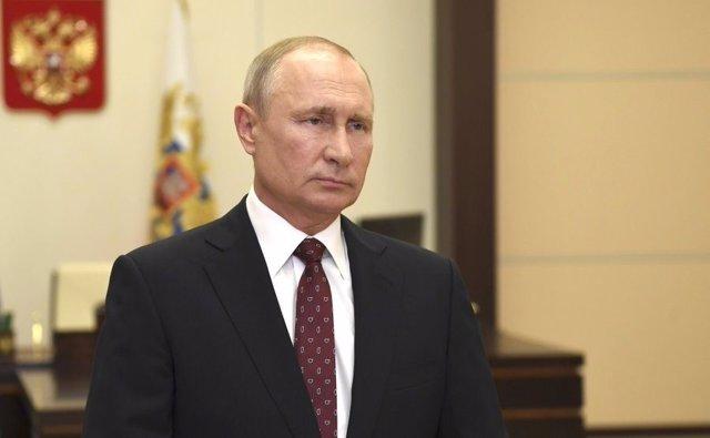 Vladimir Putin, president de Rússia