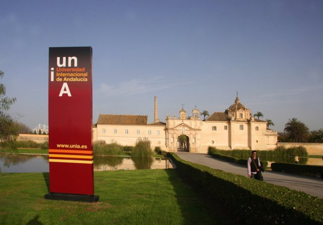 Sede de la UNIA en la Cartuja de Sevilla
