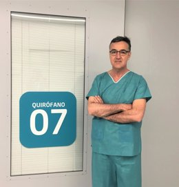 El jefe de servicio de Cirugía Torácica del Hospital Quirónsalud Córdoba, Antonio Álvarez Kindelán