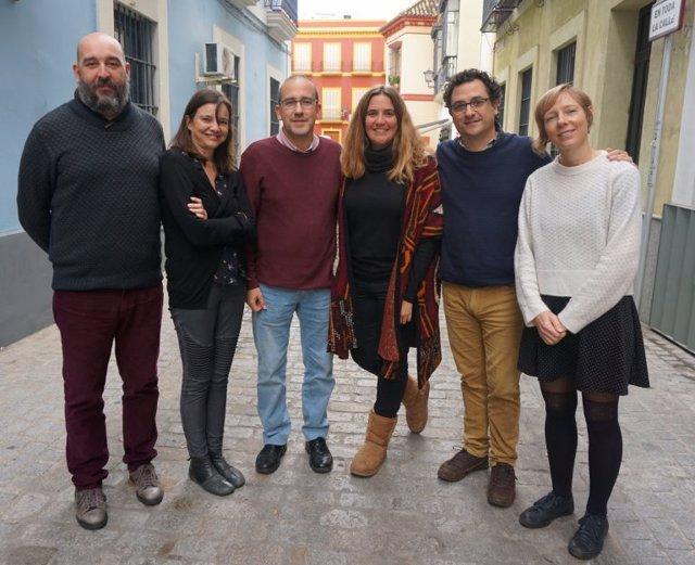Imagen del Comité Ejecutivo de la Coordinadora Andaluza de ONGD.