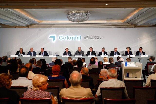 Junta general de accionistas de Colonial de 2019