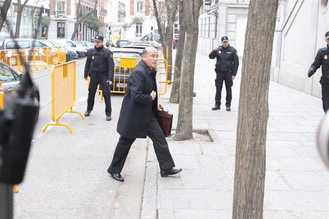 El coronel de la Guardia Civil Diego Pérez de los Cobos, responsable del operativo policial del 1 de octubre, acude a declarar ante el Supremo