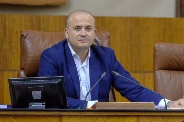 El portavoz provincial de Ciudadanos (Cs) y vicepresidente del Parlamento de Andalucía, Julio Díaz.