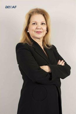 La presidenta de AEDAF, Stella Raventós Calvo.