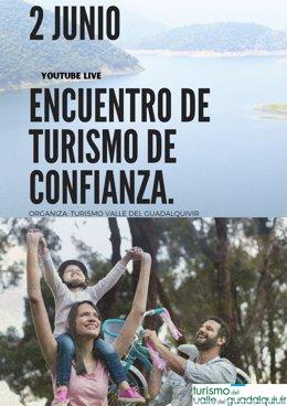 Cartel de la jornada 'Encuentro Turismo de Confianza'