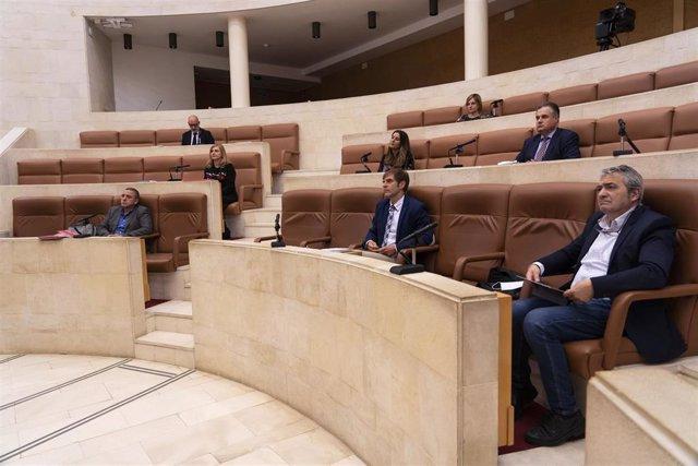 Comparecencia de CEOE, UGT y CCOO en el Parlamento