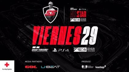 Carlos Sainz lidera la lista de pilotos para el 'Gran Turismo All Star' en el Circuit de Barcelona-Catalunya