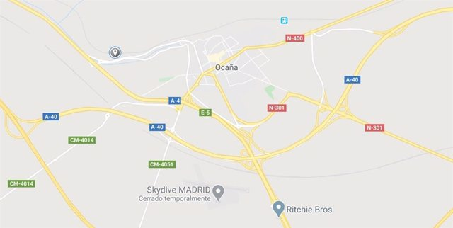 Imagen de Ocaña en Google Maps
