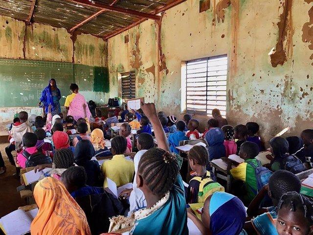 Una escuela en Burkina Faso