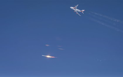 Virgin falla en el primer lanzamiento orbital de su cohete aerotransportado