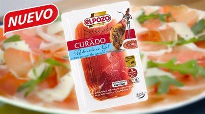 ElPozo Alimentación lanza su jamón curado lonchas reducido en sal