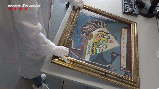 Falsificació 'Li Peintre' de Pablo Picasso