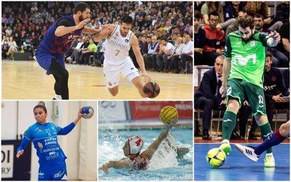 ¿Cómo han quedado las ligas deportivas en España?