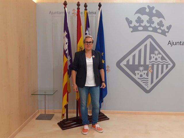 La regidora de Igual dad y LGTBI del antamiento de Palma, Sonia Vivas.