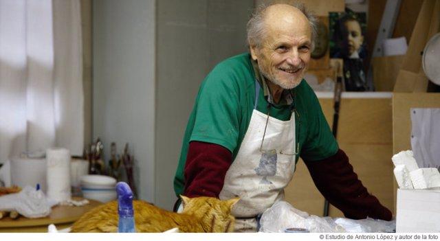 El pintor Antonio López estará en el Thyssen de Málaga