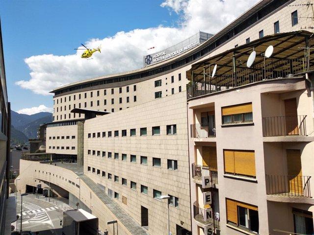 L'Hospital La nostra Senyora de Mertixell, en Escaldis-Engordany (Andorra).