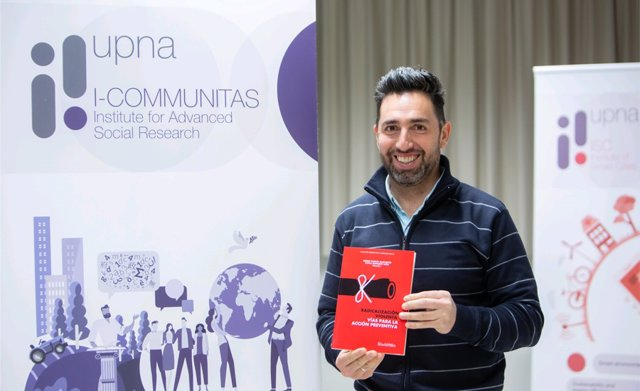 Sergio García Magariño, investigador de la Universidad Pública de Navarra.