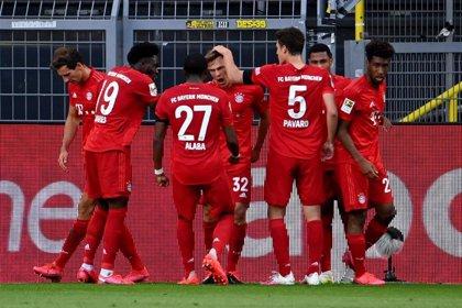 El Bayern ata media Bundesliga con un gol para enmarcar