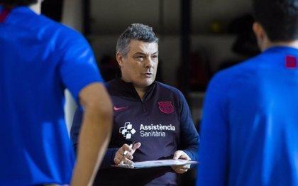 El entrenador del Barça Xavi Pascual, operado de una afectación prostática