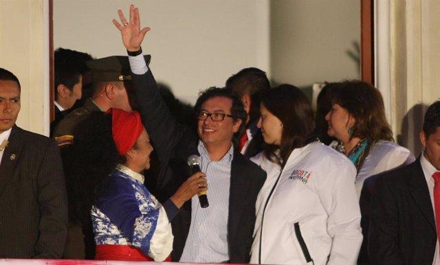 El senador colombiano y líder de la fuerza política Colombia Humana, Gustavo Petro.