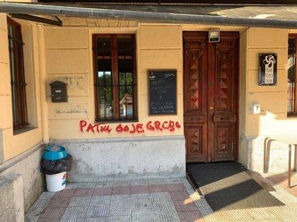 Atacan otros cuatro batzokis en Areatza y Artea, y los sabotajes a sedes jeltzales suman ya 27
