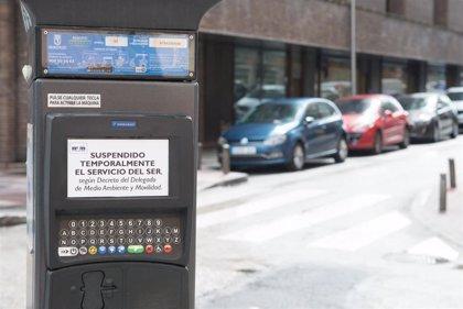 El Servicio de Estacionamiento Regulado (SER) volverá a estar operativo en Madrid desde el lunes