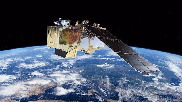 Satélite Sentinel 2 de la Agencia Espacial Europea (ESA)