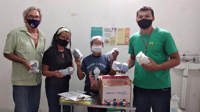 Coronavirus.- Fontilles distribuye mascarillas en el Amazonas para evitar la exp