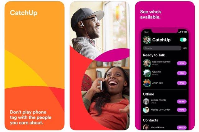 Esta app de solo llamadas de voz te dice quién está disponible para hablar en es