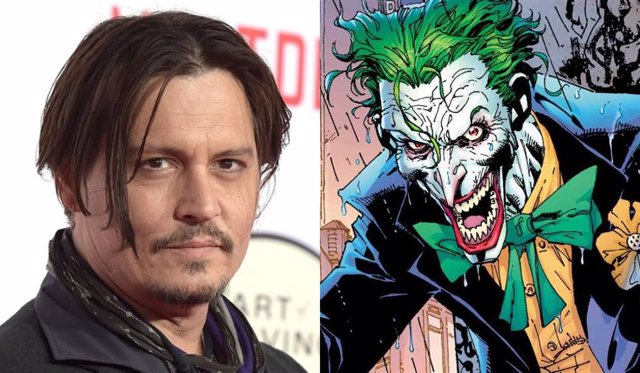 Así sería Johnny Depp como Joker en The Batman