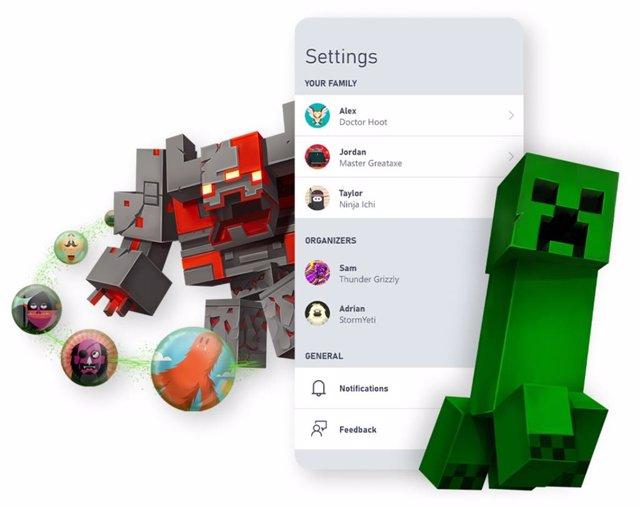 Xbox reúne los controles parentales en su app móvil Xbox Family Settings