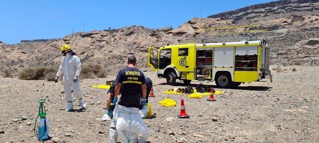 Sucesos.- Bomberos de Gran Canaria rescatan el cuerpo sin vida de una persona qu