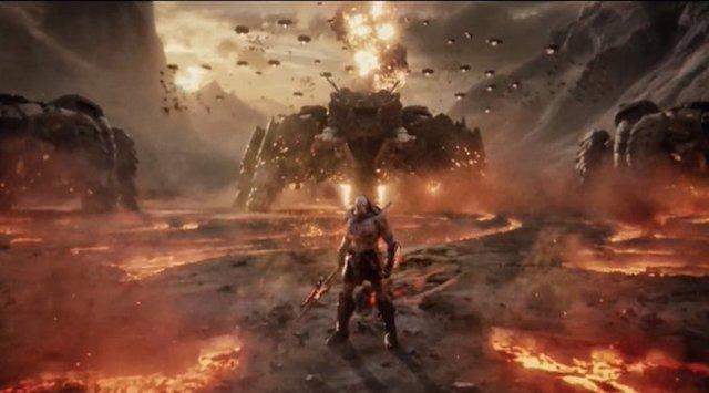 Este es el Darkseid de Zack Snyder y su Liga de la Justicia (Justice League)