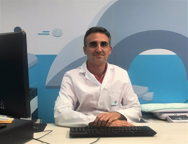 El pediatra del Hospital Quirónsalud Córdoba Rafael González de Caldas