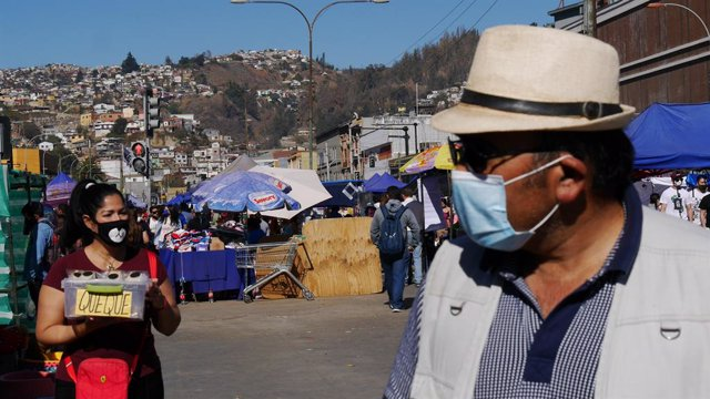 Coronavirus.- Chile supera los 82.000 casos de coronavirus tras sumar más de 4.0