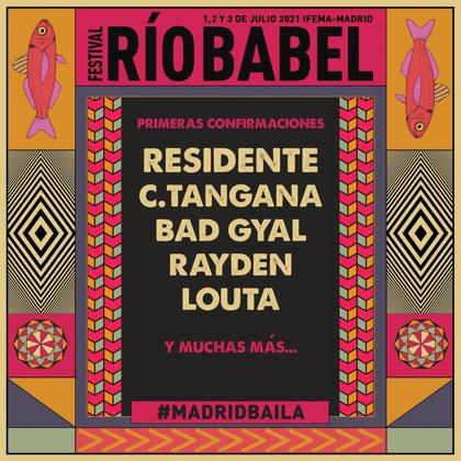 El Festival Río Babel se aplaza a 2021 y confirma a Residente, C Tangana, Bad Gyal, Rayden y Louta