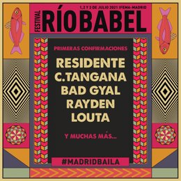 El Festival Río Babel se aplaza a 2021 y confirma a Residente, C Tangana, Bad Gy
