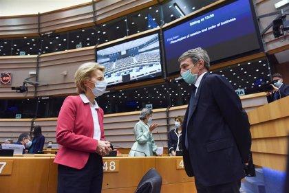 """Unidas Podemos teme recortes en la """"letra pequeña"""" del plan anticrisis de la Comisión Europea"""