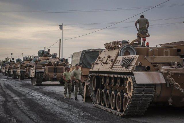 Siria.- Muere un militar de Turquía por la explosión de una bomba en el noroeste