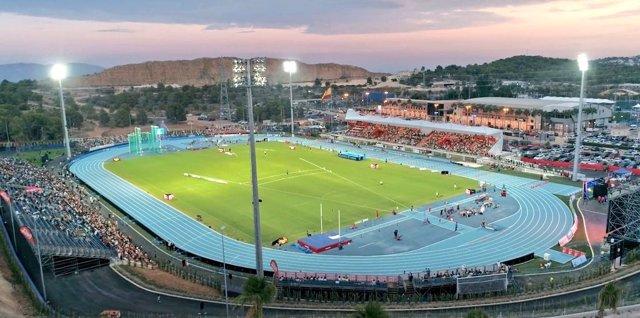 Fútbol.- El Levante jugará en el Olímpico Camilo Cano lo que resta de Liga