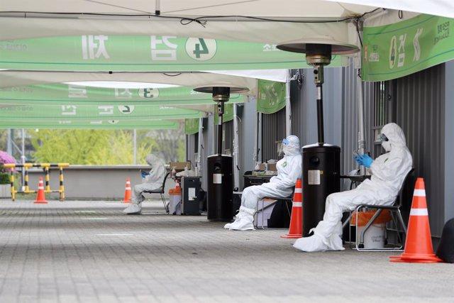 Coronavirus.- Corea del Sur informa de 79 nuevos casos de coronavirus en un día,