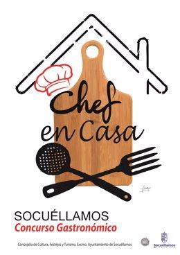El viernes finaliza el plazo para participar en el Concurso 'Chef en casa' organ