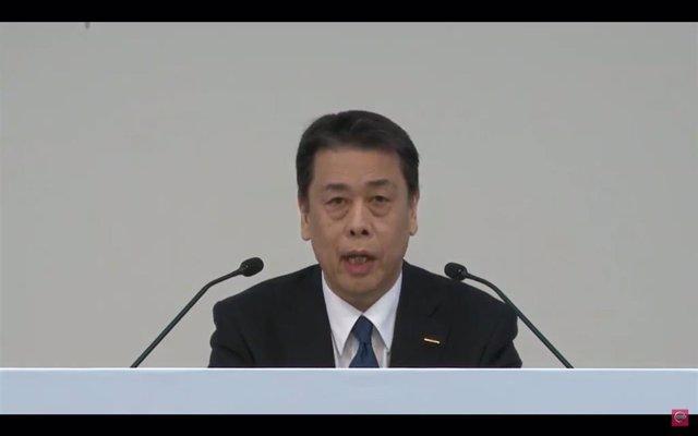 El consejero delegado de Nissan, Makoto Uchida.