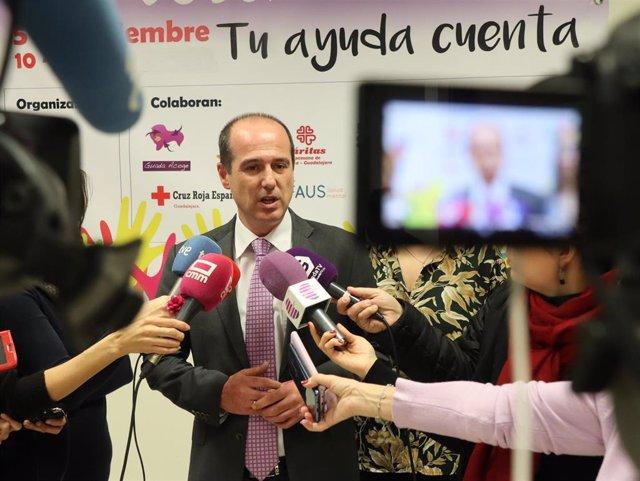 El alcalde de Guadalajara, Alberto Rojo, en una foto de archivo