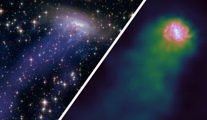 Algunos agujeros negros supermasivos progresan bajo presión