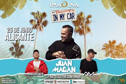 Juan Magán encabeza 'Dancing in my car', el primer festival español itinerante en formato autocine